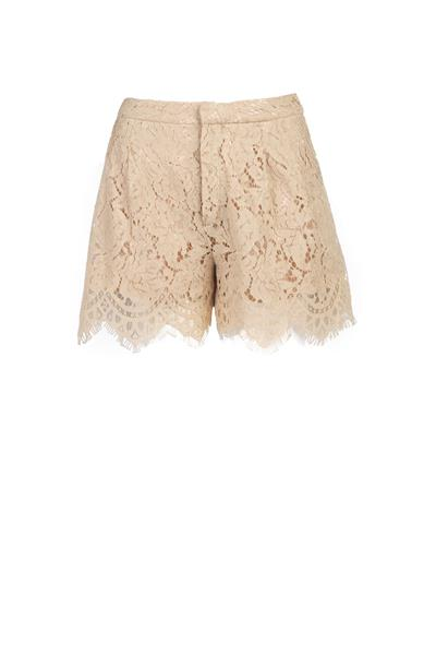 Nude lace short
